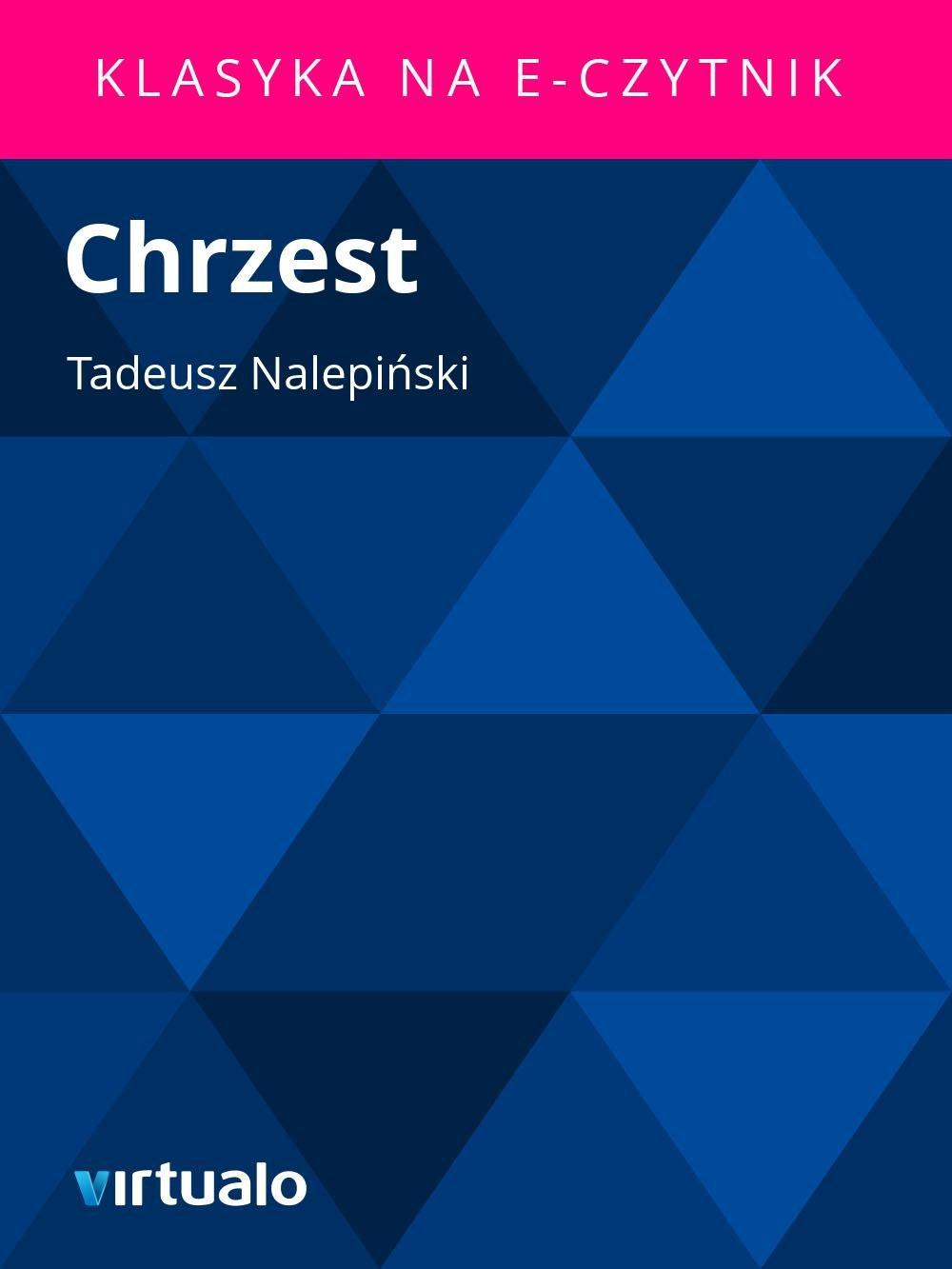 Chrzest - Ebook (Książka EPUB) do pobrania w formacie EPUB