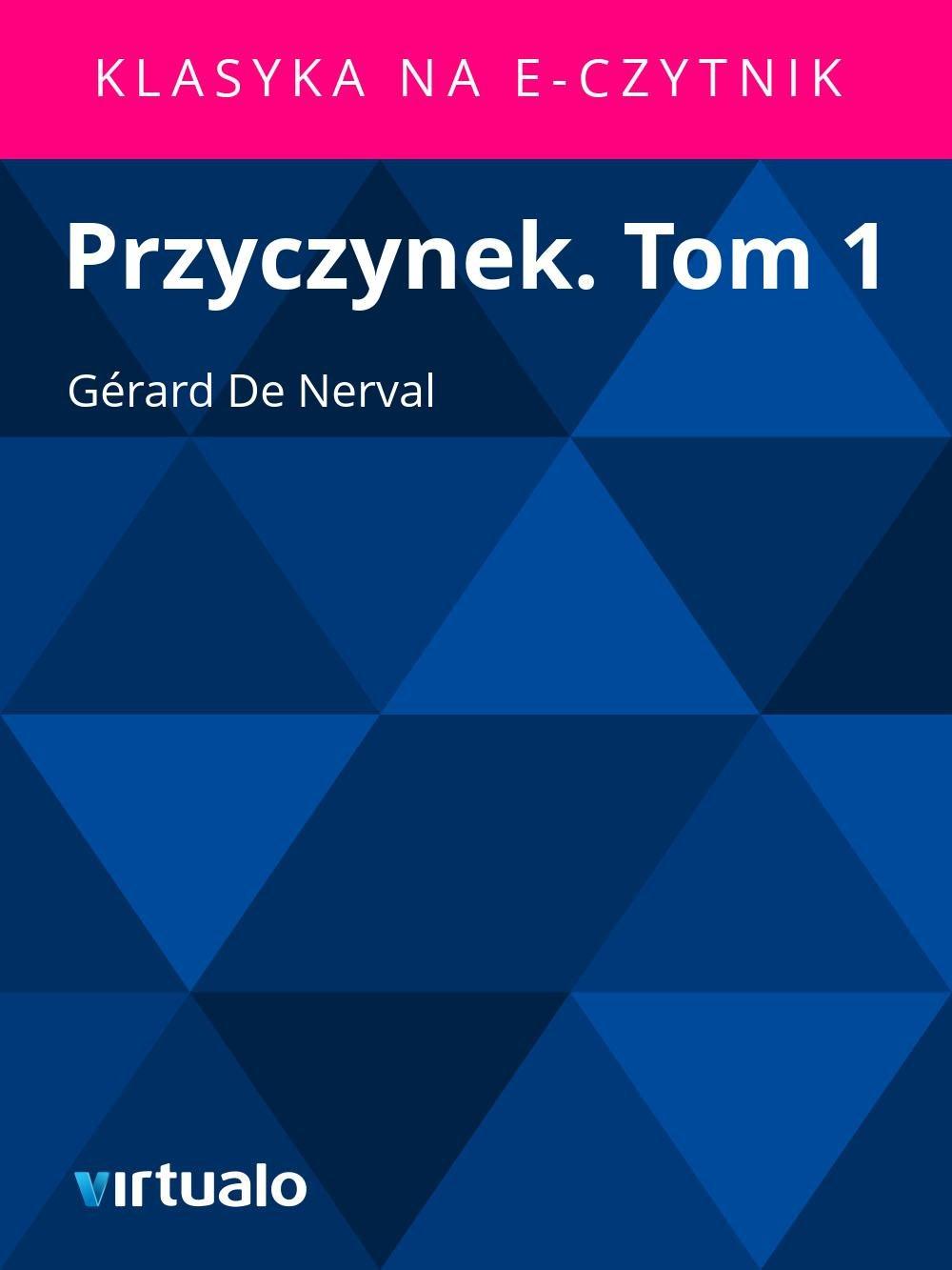 Przyczynek. Tom 1 - Ebook (Książka EPUB) do pobrania w formacie EPUB