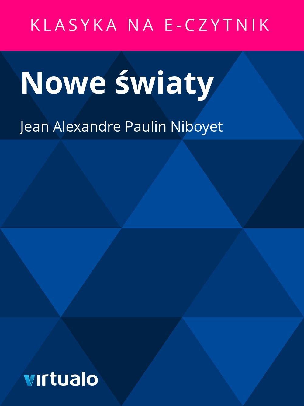 Nowe światy - Ebook (Książka EPUB) do pobrania w formacie EPUB