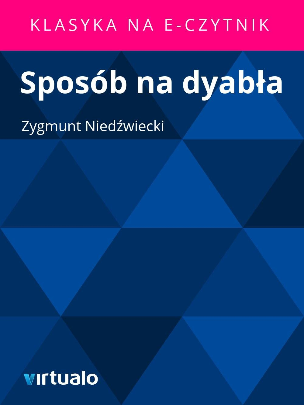 Sposób na dyabła - Ebook (Książka EPUB) do pobrania w formacie EPUB