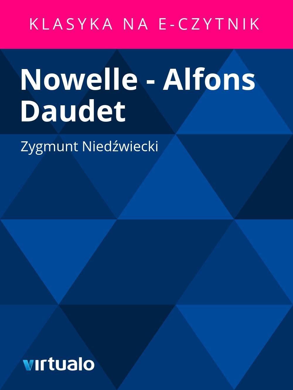 Nowelle - Alfons Daudet - Ebook (Książka EPUB) do pobrania w formacie EPUB