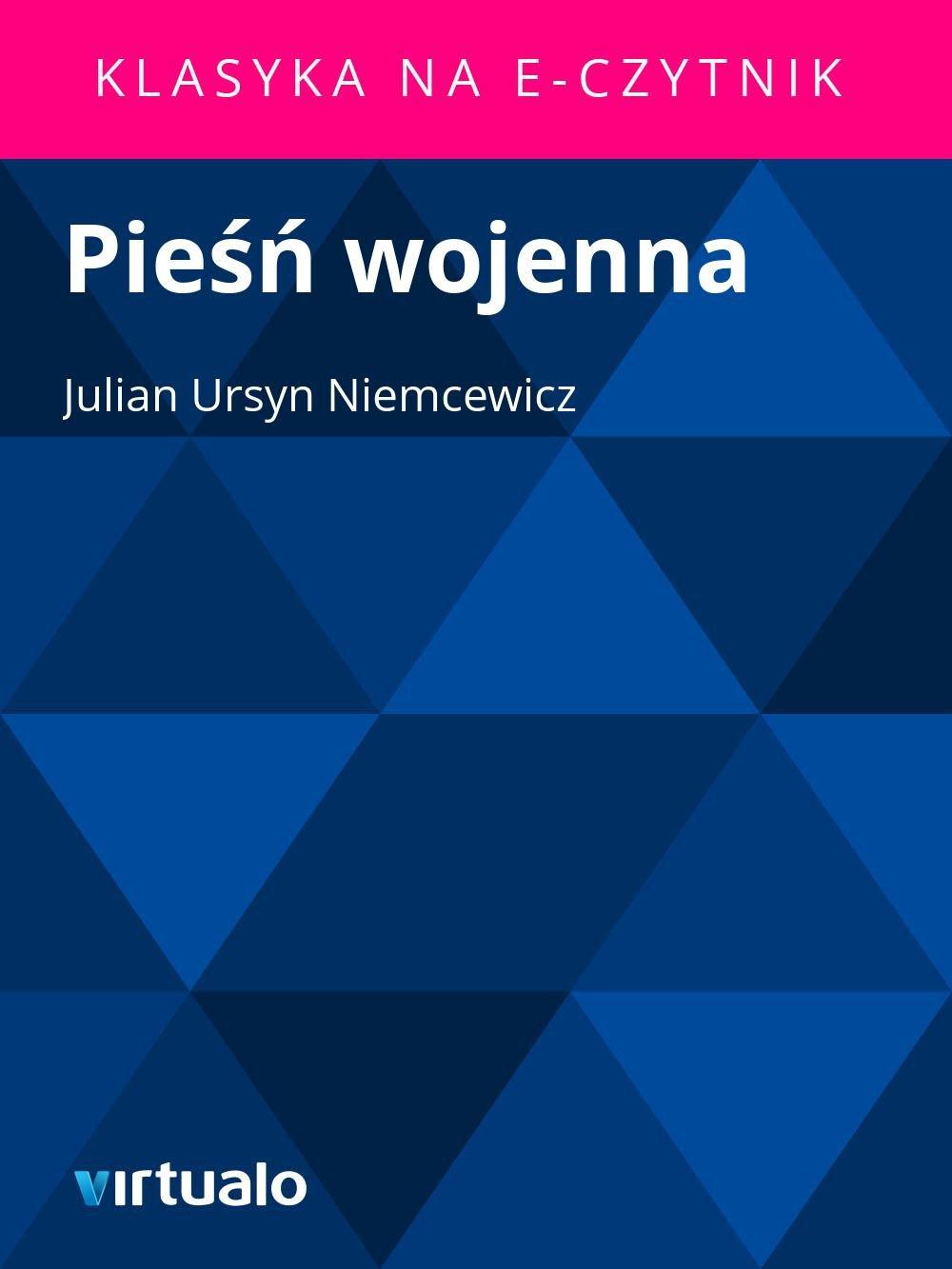 Pieśń wojenna - Ebook (Książka EPUB) do pobrania w formacie EPUB