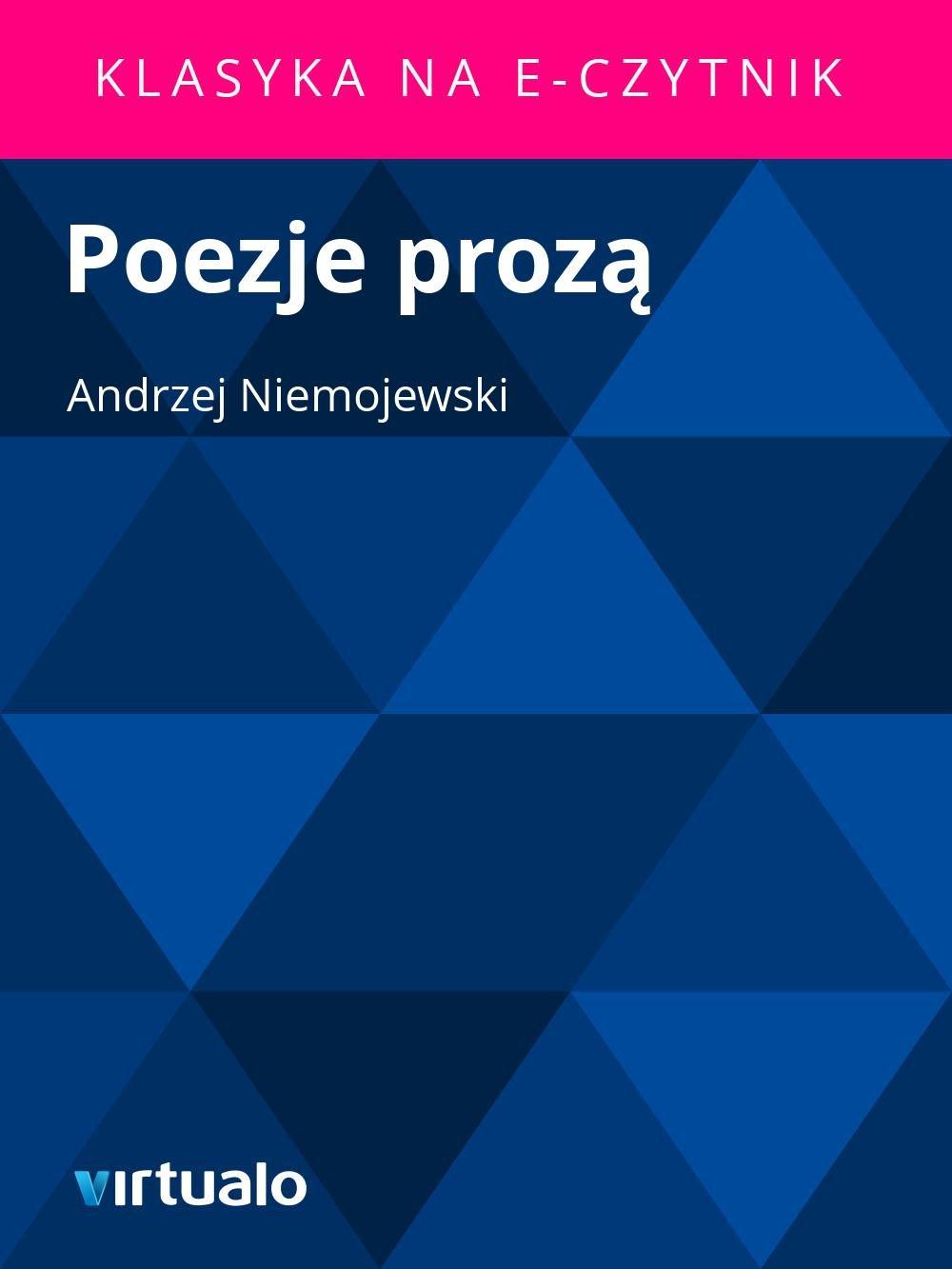 Poezje prozą - Ebook (Książka EPUB) do pobrania w formacie EPUB