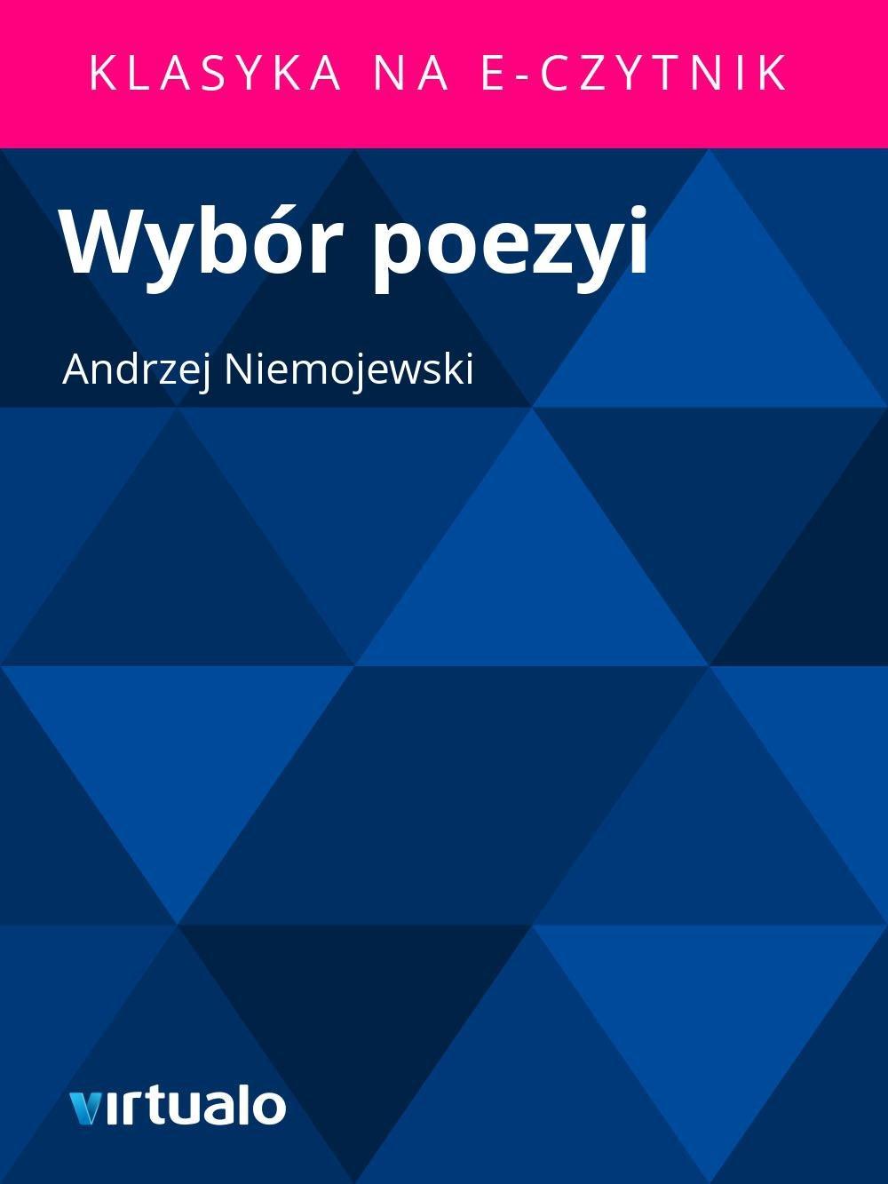Wybór poezyi - Ebook (Książka EPUB) do pobrania w formacie EPUB