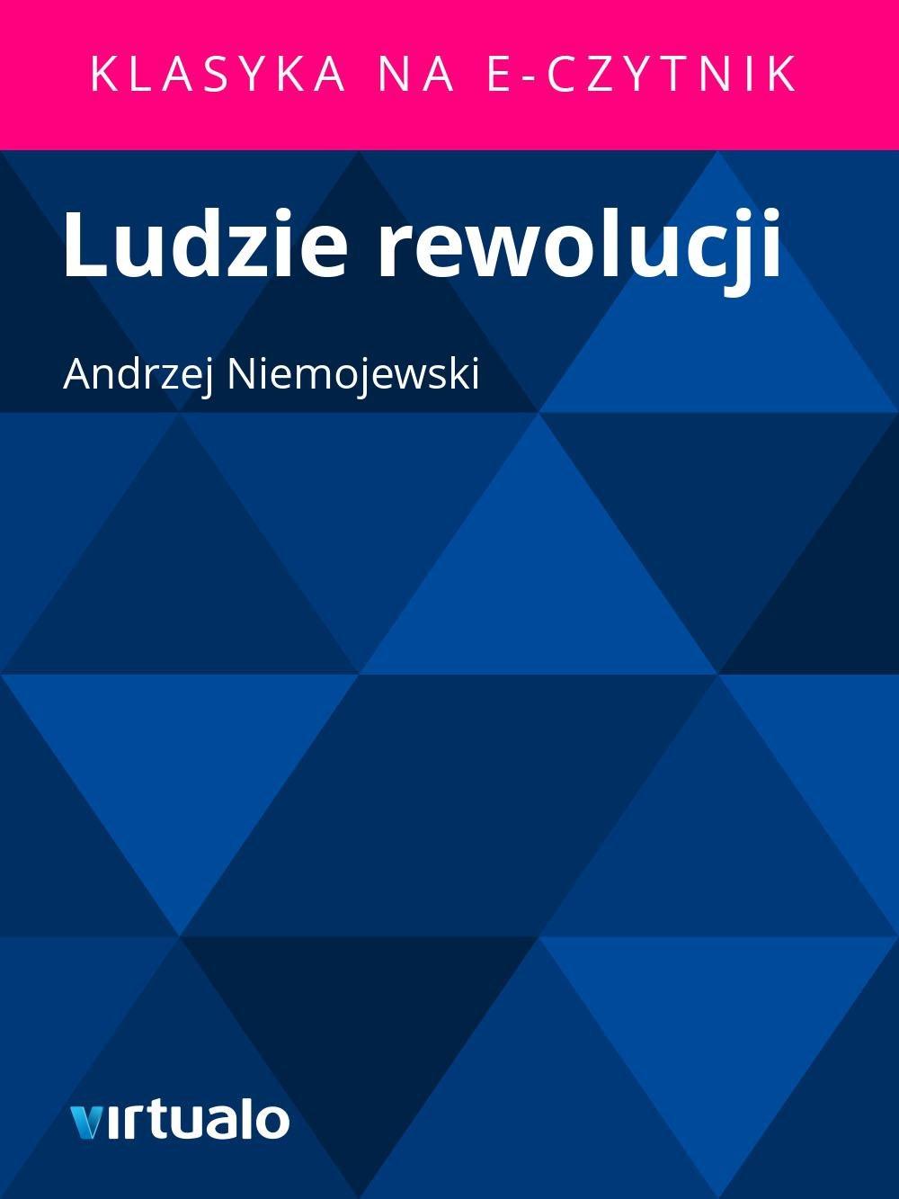 Ludzie rewolucji - Ebook (Książka EPUB) do pobrania w formacie EPUB