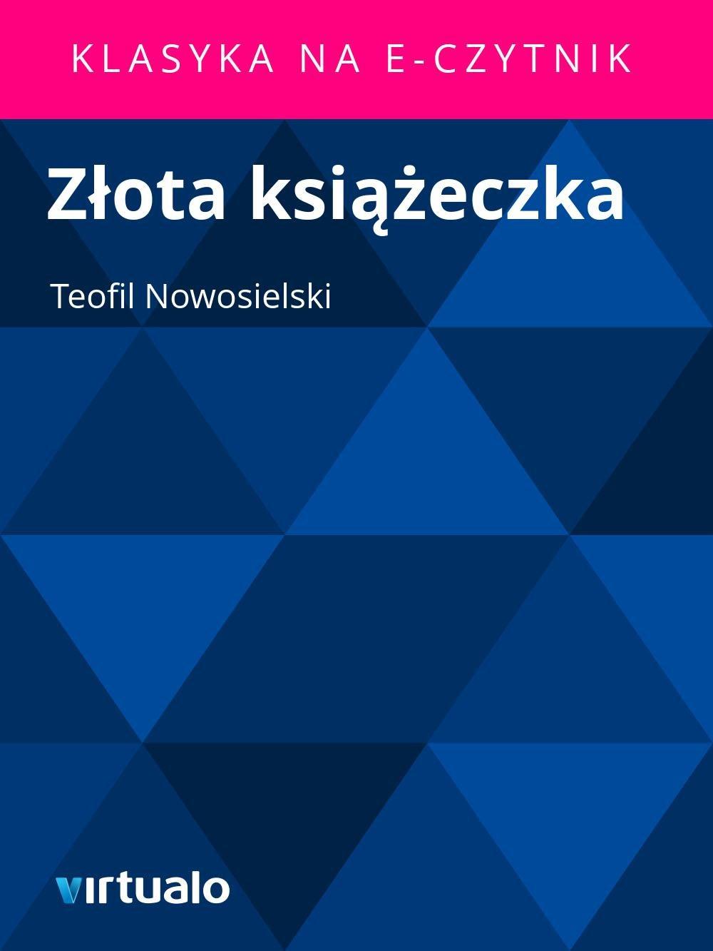 Złota książeczka - Ebook (Książka EPUB) do pobrania w formacie EPUB