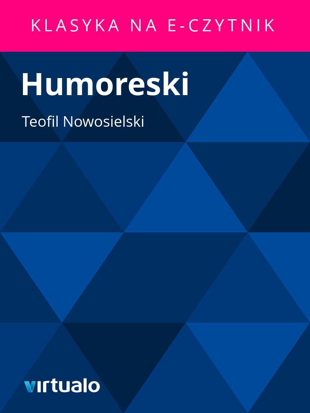 Humoreski - Ebook (Książka EPUB) do pobrania w formacie EPUB