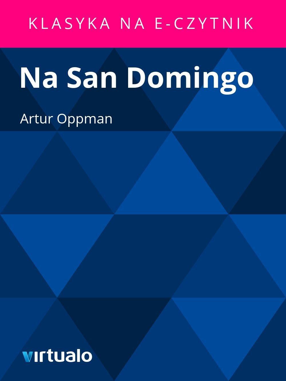 Na San Domingo - Ebook (Książka EPUB) do pobrania w formacie EPUB