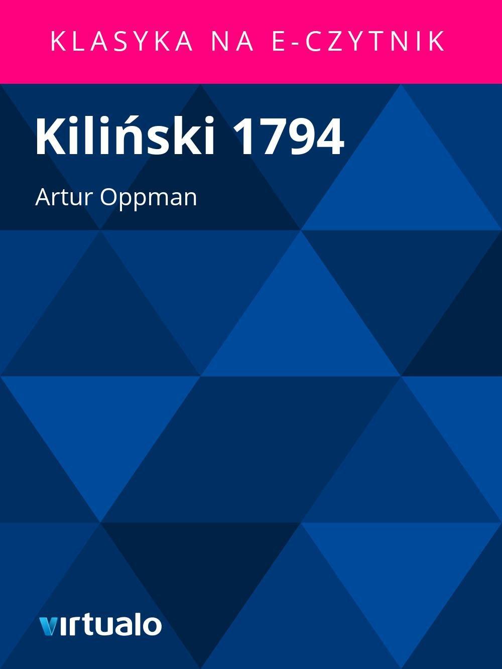 Kiliński 1794 - Ebook (Książka EPUB) do pobrania w formacie EPUB