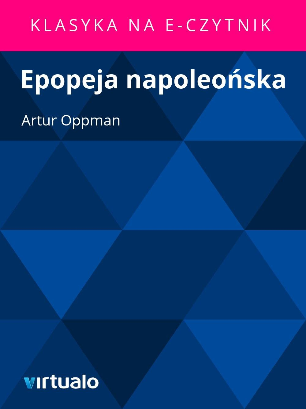 Epopeja napoleońska - Ebook (Książka EPUB) do pobrania w formacie EPUB