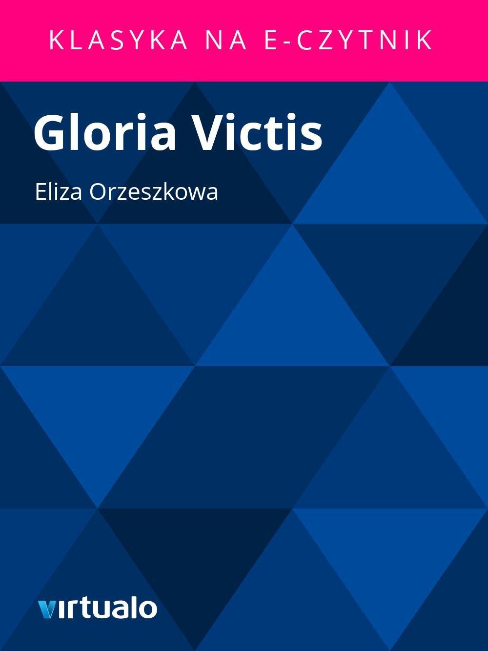 Gloria Victis - Ebook (Książka EPUB) do pobrania w formacie EPUB