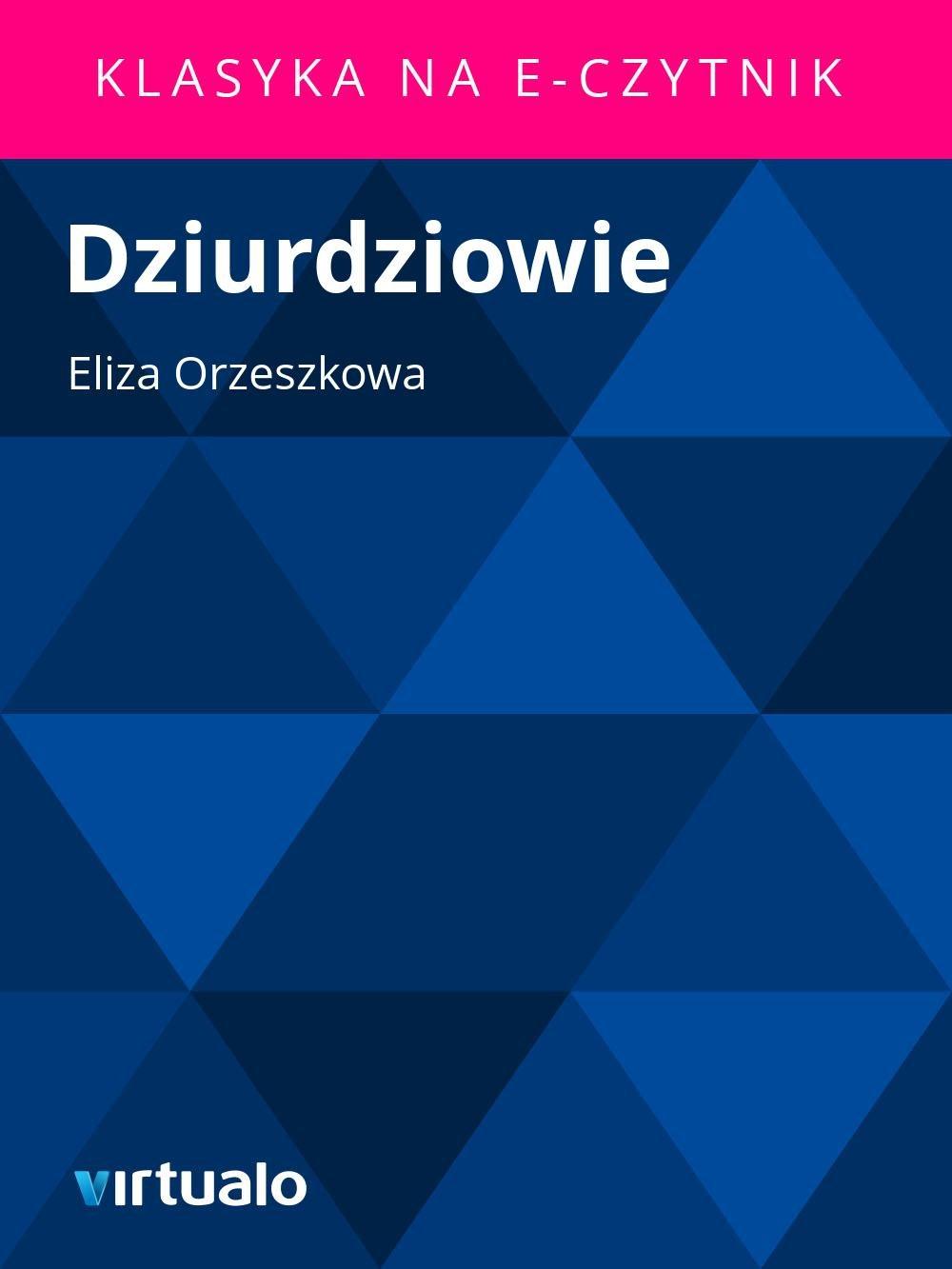 Dziurdziowie - Ebook (Książka EPUB) do pobrania w formacie EPUB