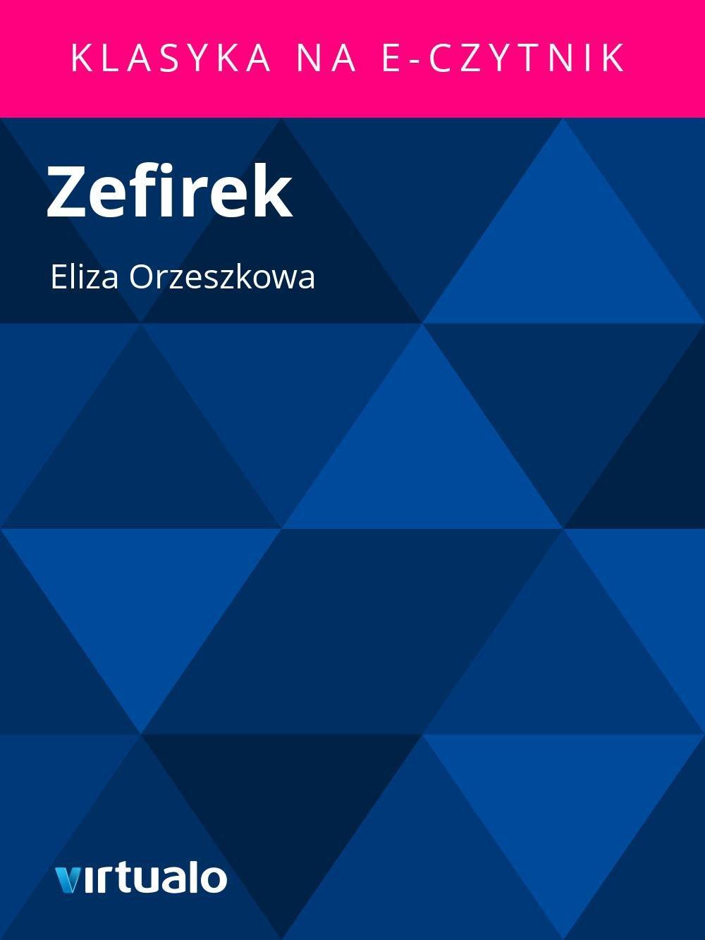 Zefirek - Ebook (Książka EPUB) do pobrania w formacie EPUB
