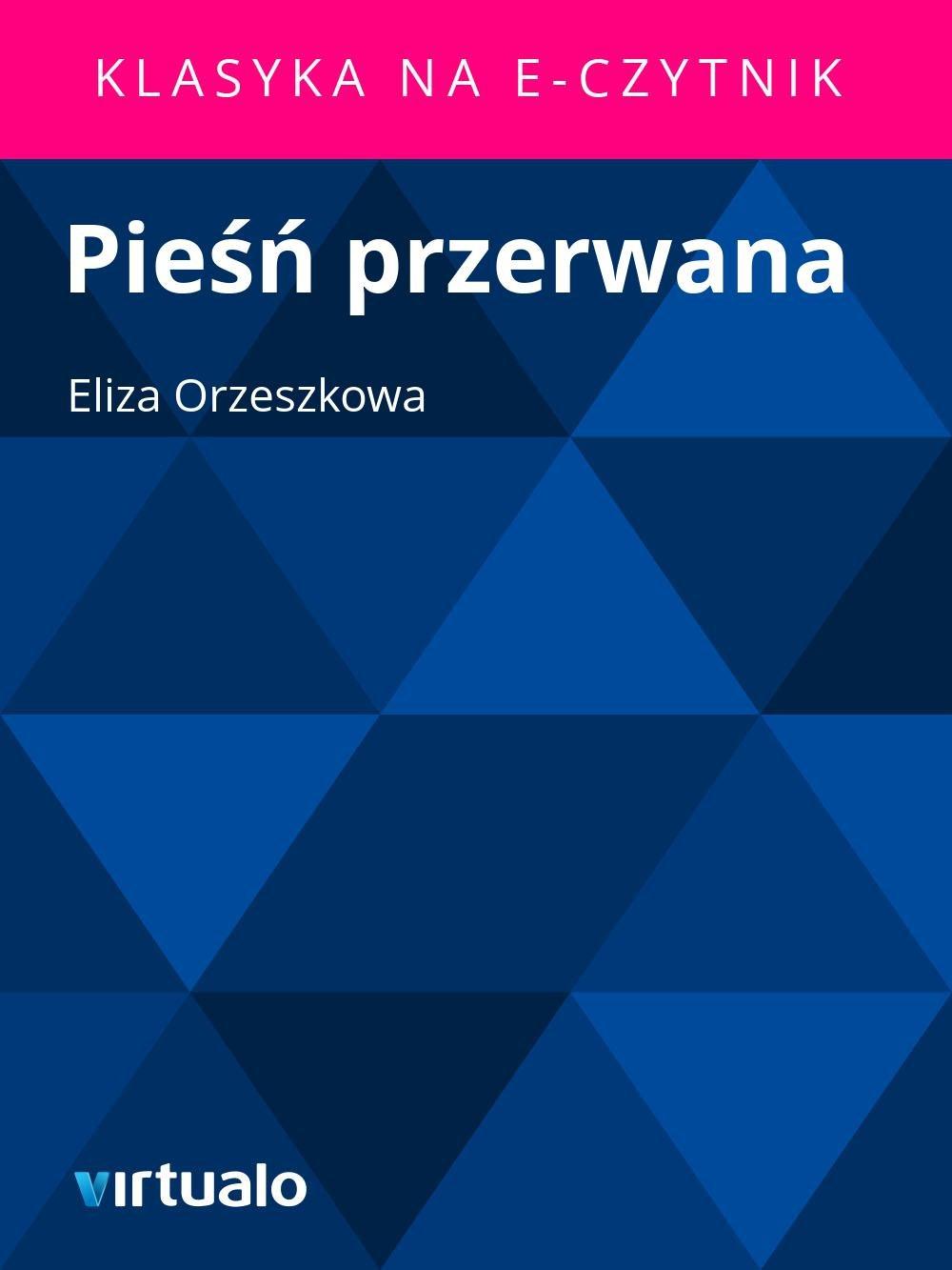 Pieśń przerwana - Ebook (Książka EPUB) do pobrania w formacie EPUB