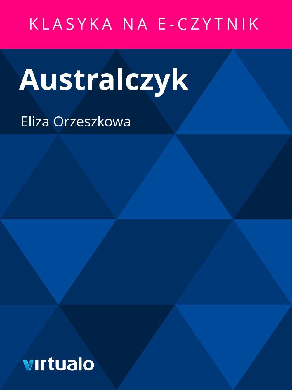 Australczyk - Ebook (Książka EPUB) do pobrania w formacie EPUB