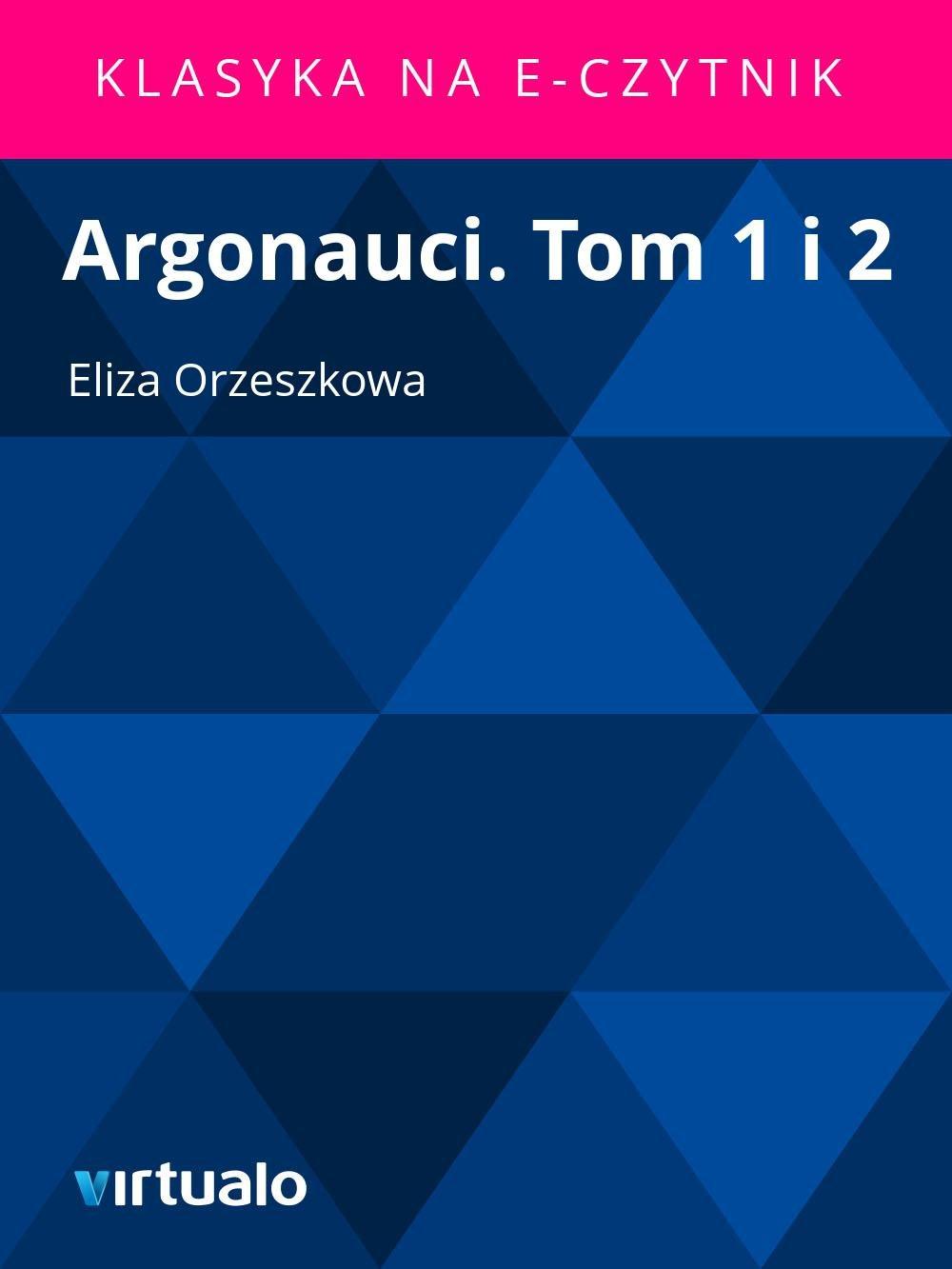 Argonauci. Tom 1 i 2 - Ebook (Książka EPUB) do pobrania w formacie EPUB