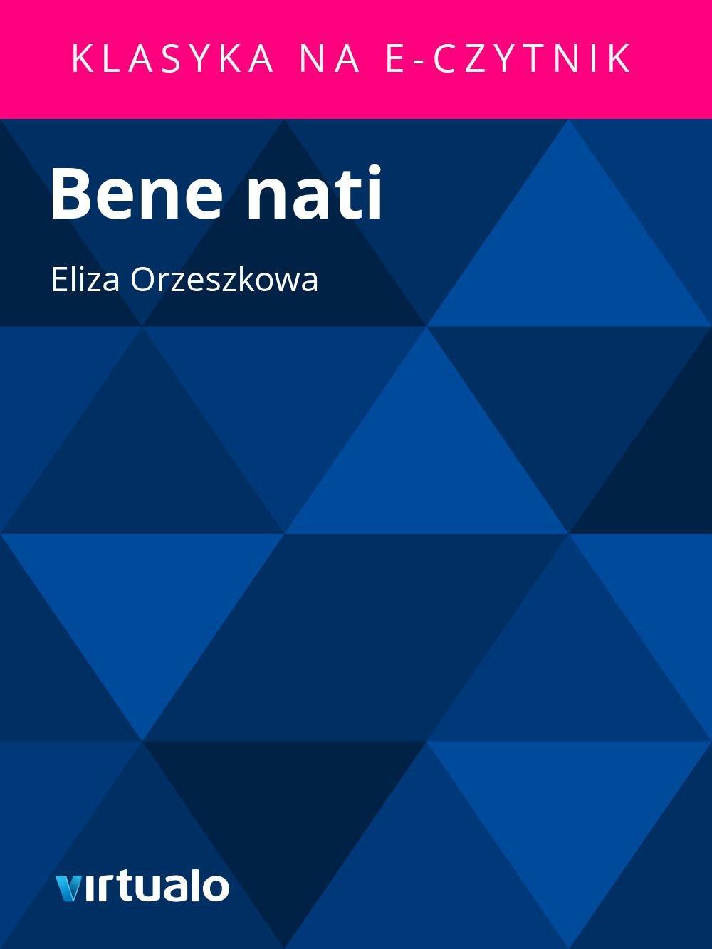 Bene nati - Ebook (Książka EPUB) do pobrania w formacie EPUB