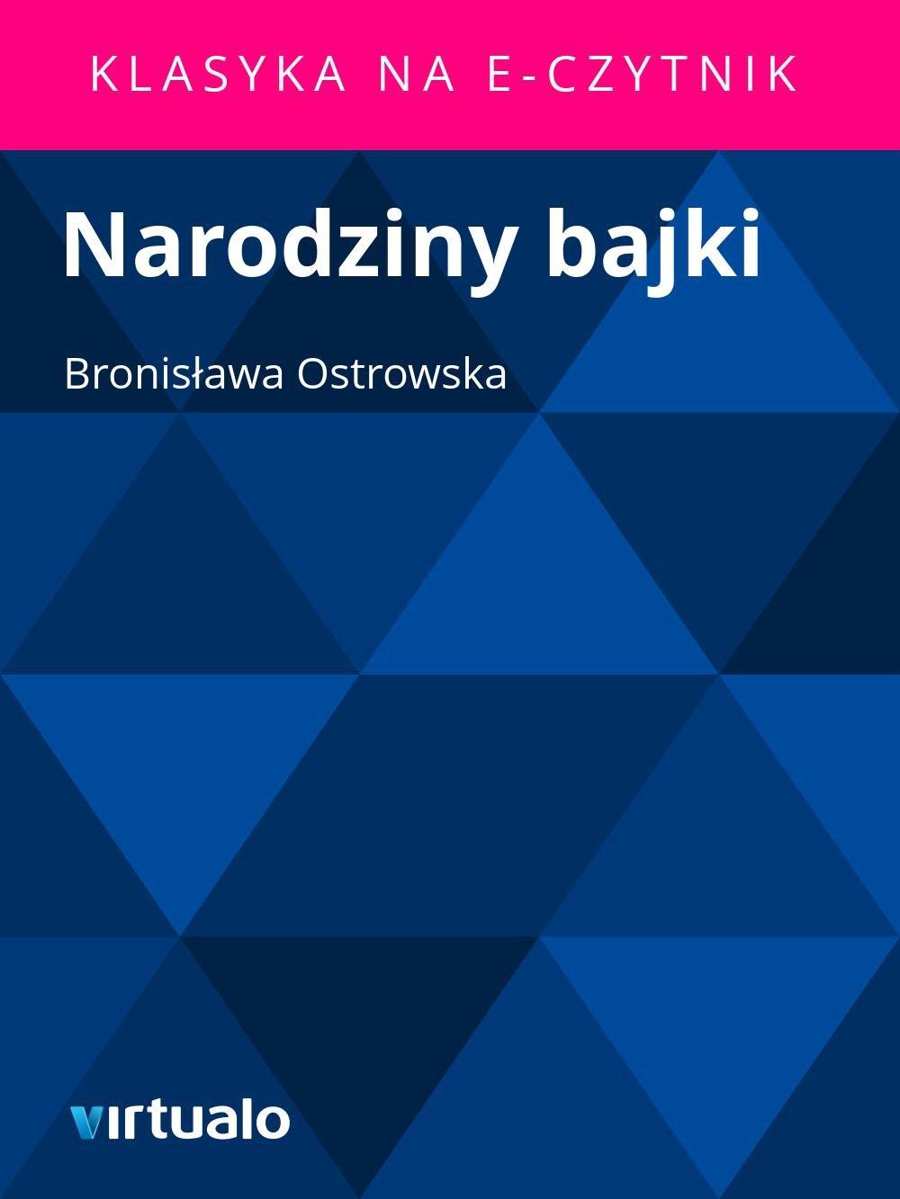 Narodziny bajki - Ebook (Książka EPUB) do pobrania w formacie EPUB