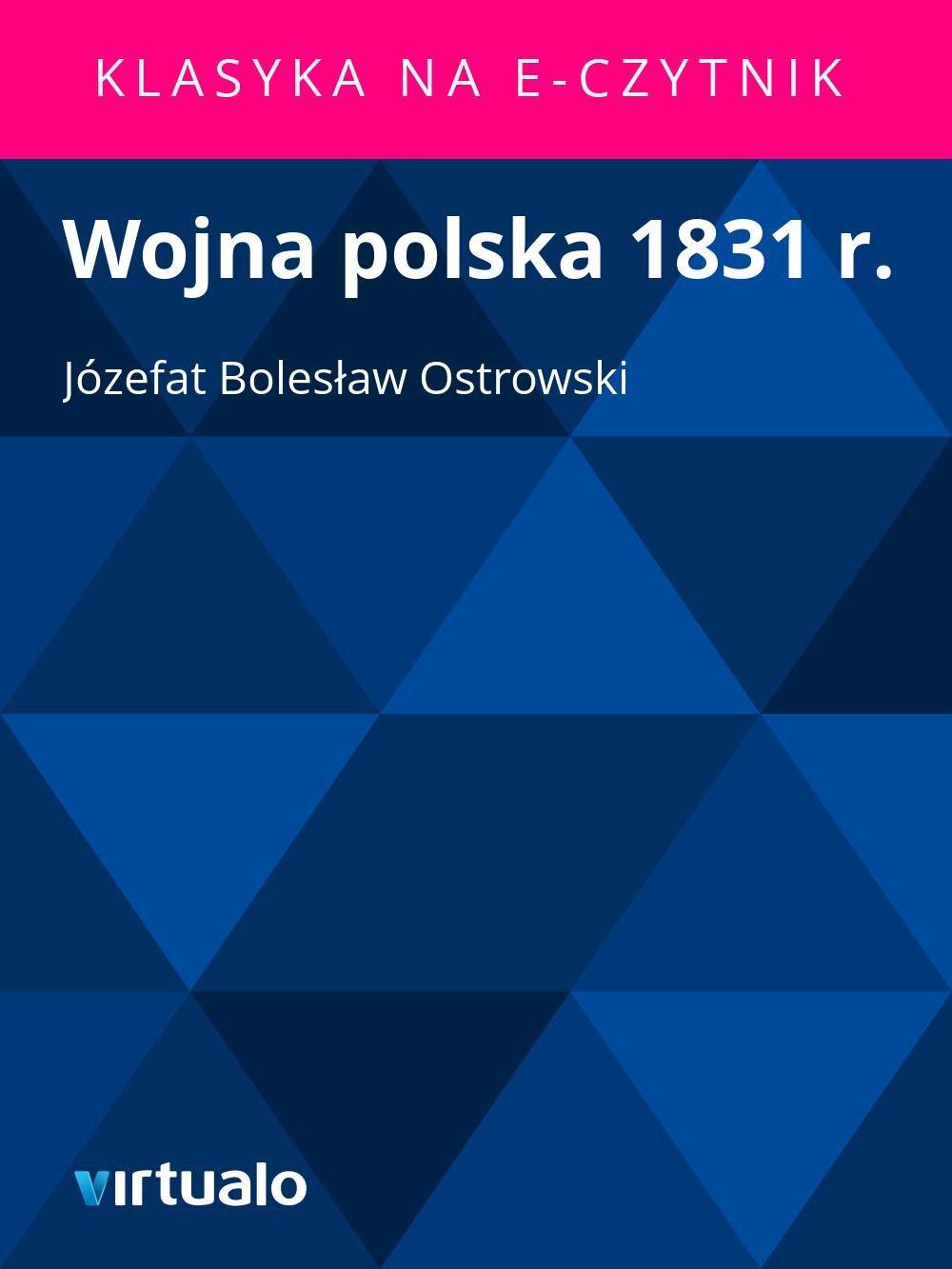Wojna polska 1831 r. - Ebook (Książka EPUB) do pobrania w formacie EPUB