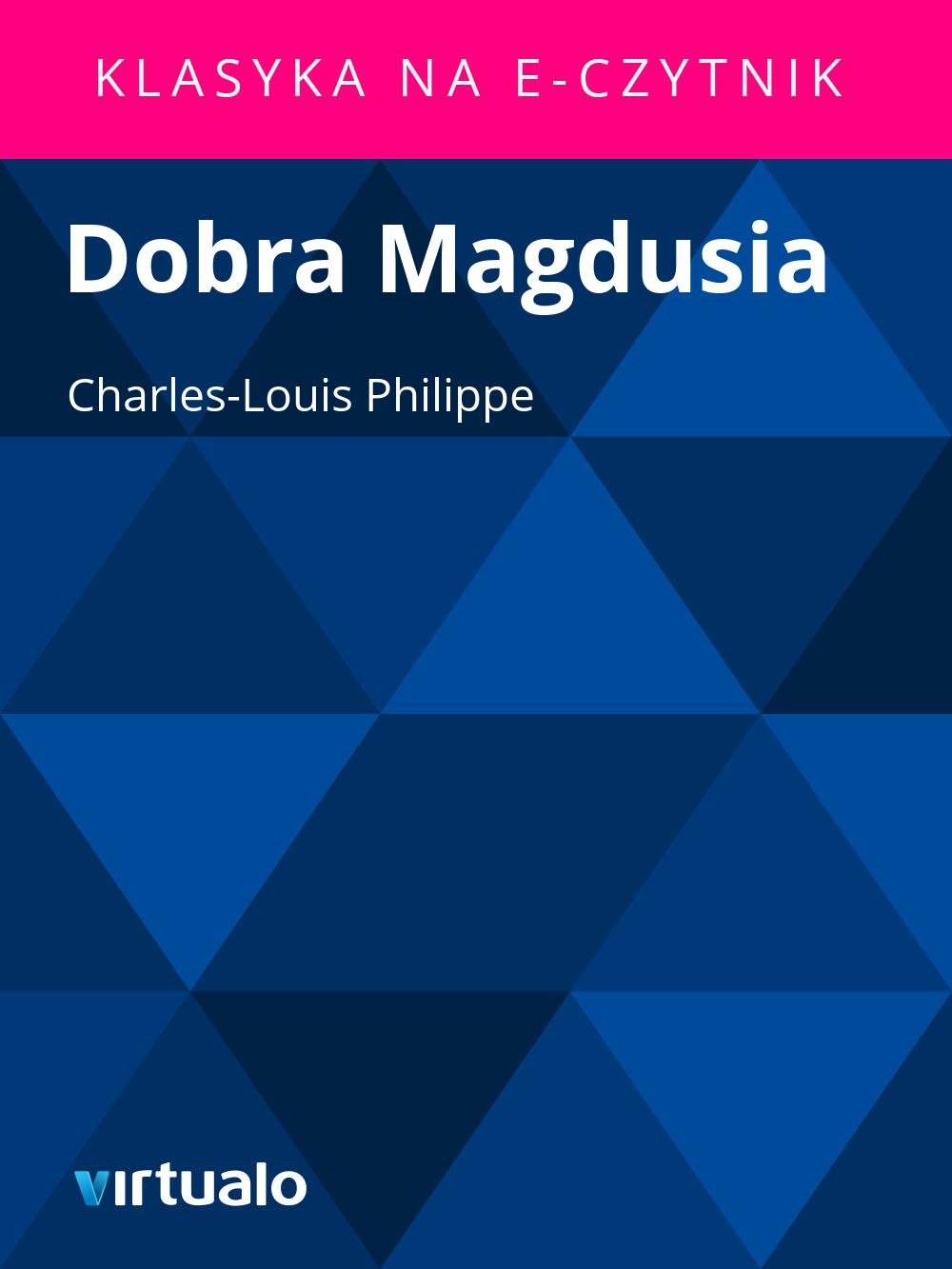Dobra Magdusia - Ebook (Książka EPUB) do pobrania w formacie EPUB