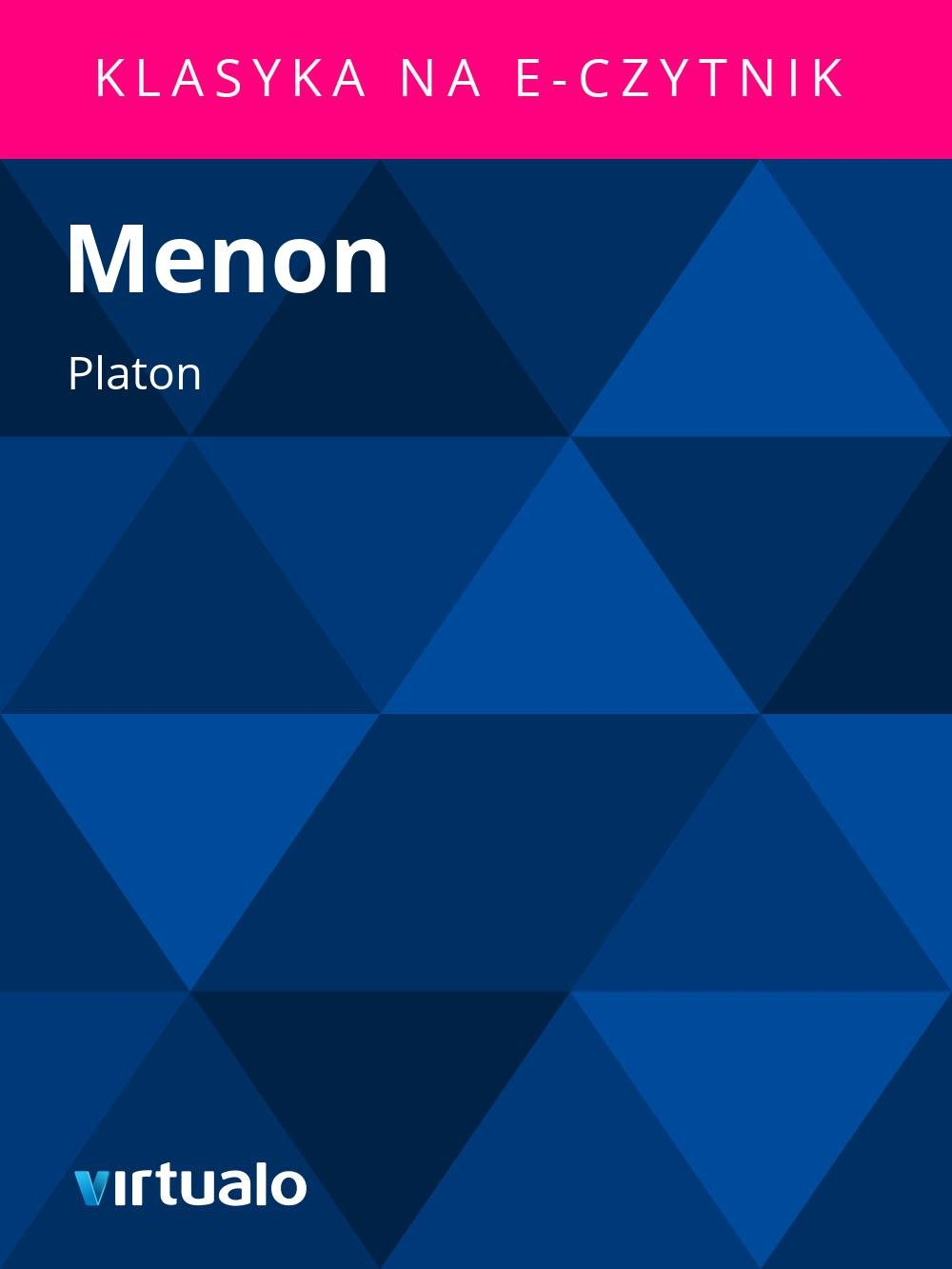 Menon - Ebook (Książka EPUB) do pobrania w formacie EPUB