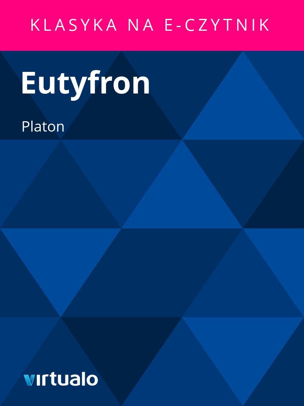 Eutyfron - Ebook (Książka EPUB) do pobrania w formacie EPUB