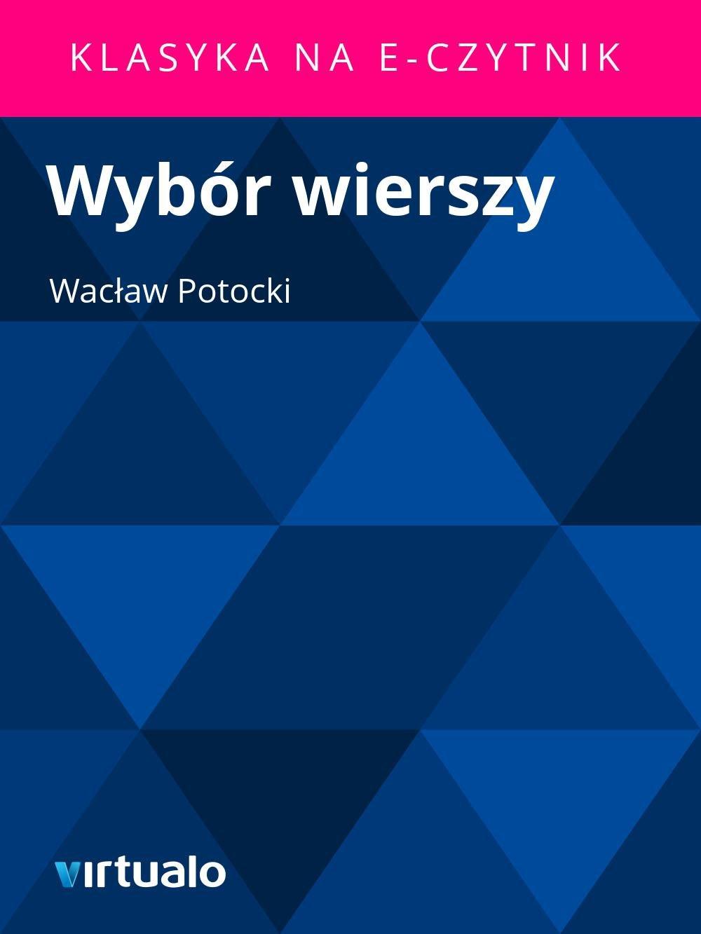 Wybór wierszy - Ebook (Książka EPUB) do pobrania w formacie EPUB