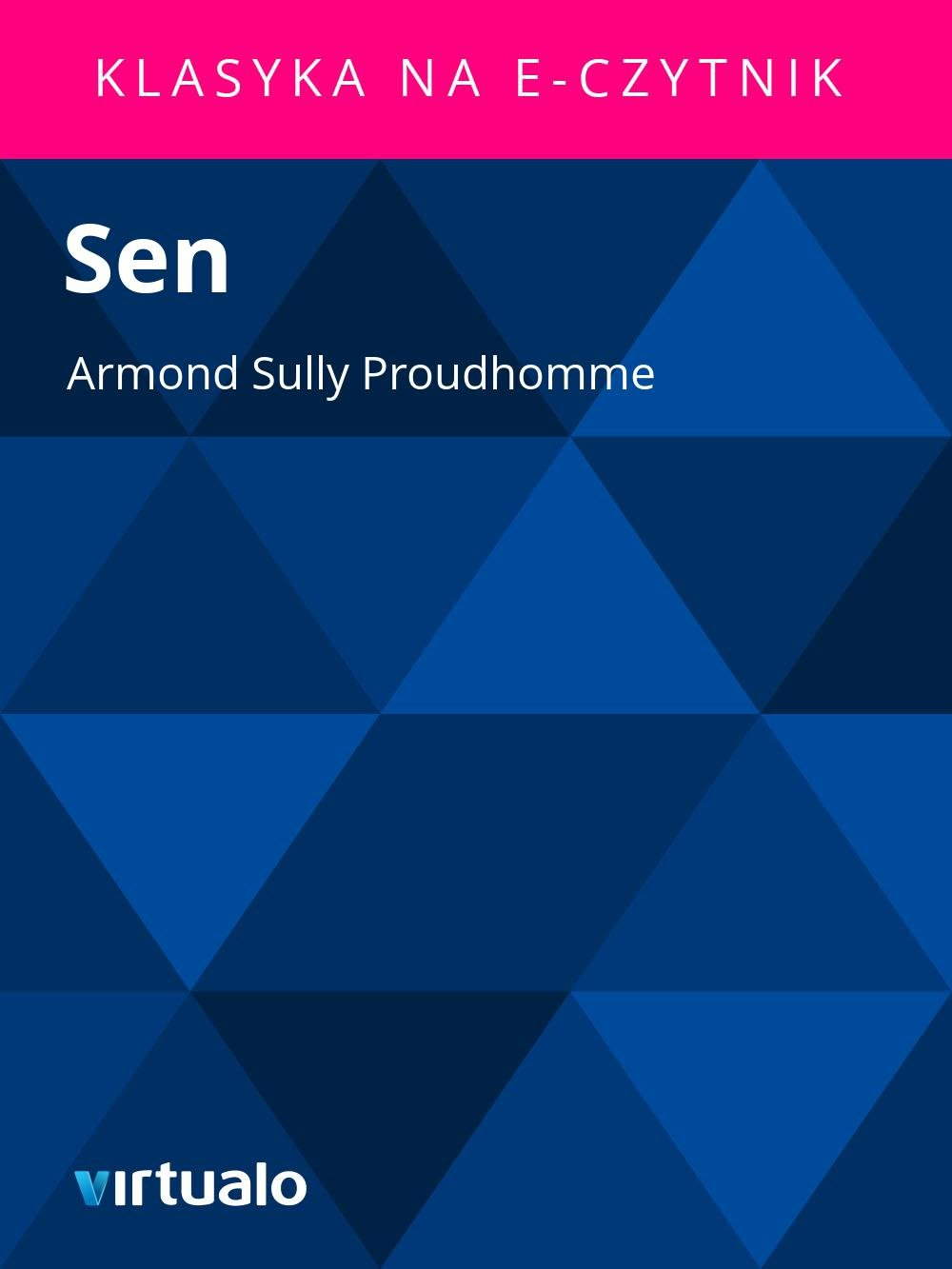 Sen - Ebook (Książka EPUB) do pobrania w formacie EPUB