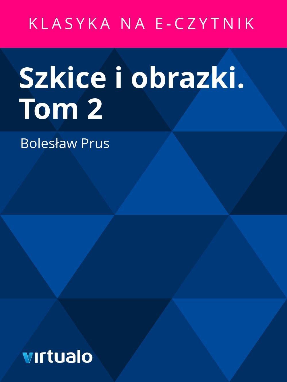 Szkice i obrazki. Tom 2 - Ebook (Książka EPUB) do pobrania w formacie EPUB
