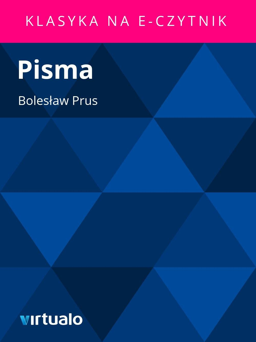 Pisma - Ebook (Książka EPUB) do pobrania w formacie EPUB