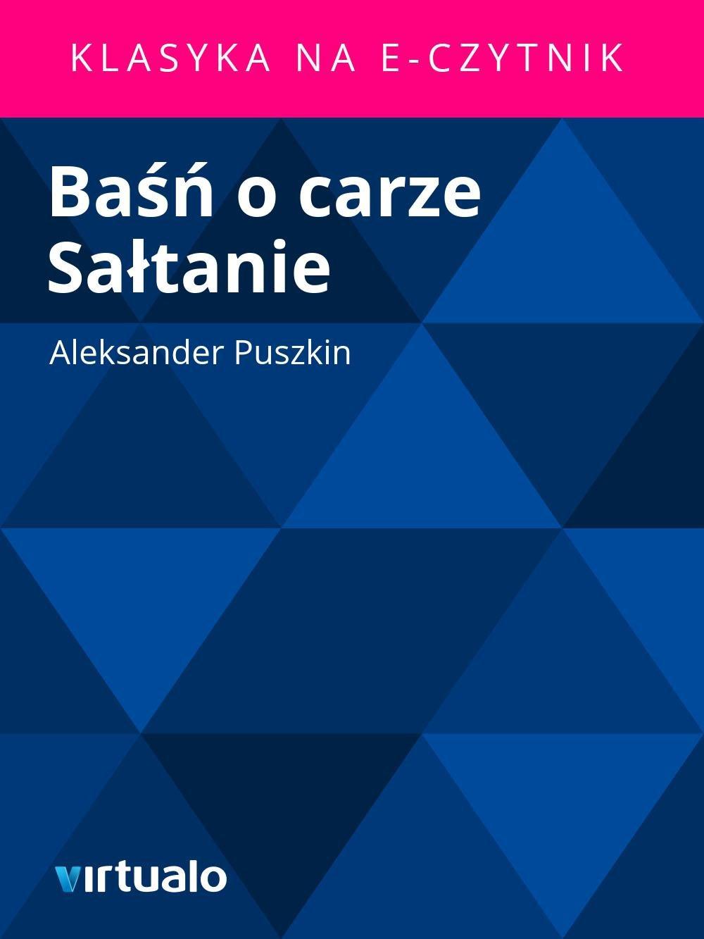 Baśń o carze Sałtanie - Ebook (Książka EPUB) do pobrania w formacie EPUB
