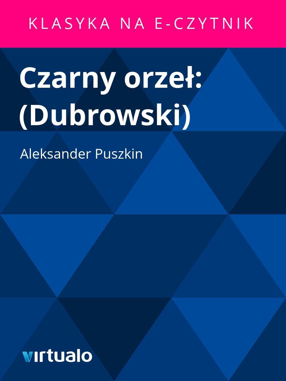 Czarny orzeł: (Dubrowski) - Ebook (Książka EPUB) do pobrania w formacie EPUB