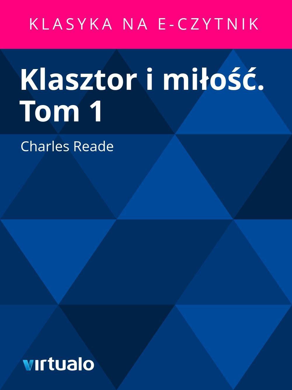 Klasztor i miłość. Tom 1 - Ebook (Książka EPUB) do pobrania w formacie EPUB