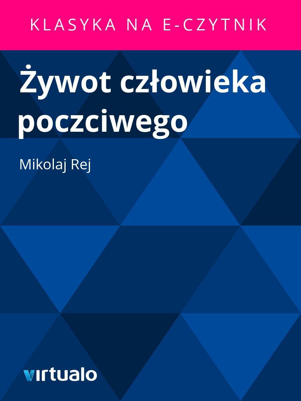 Żywot człowieka poczciwego - Ebook (Książka EPUB) do pobrania w formacie EPUB