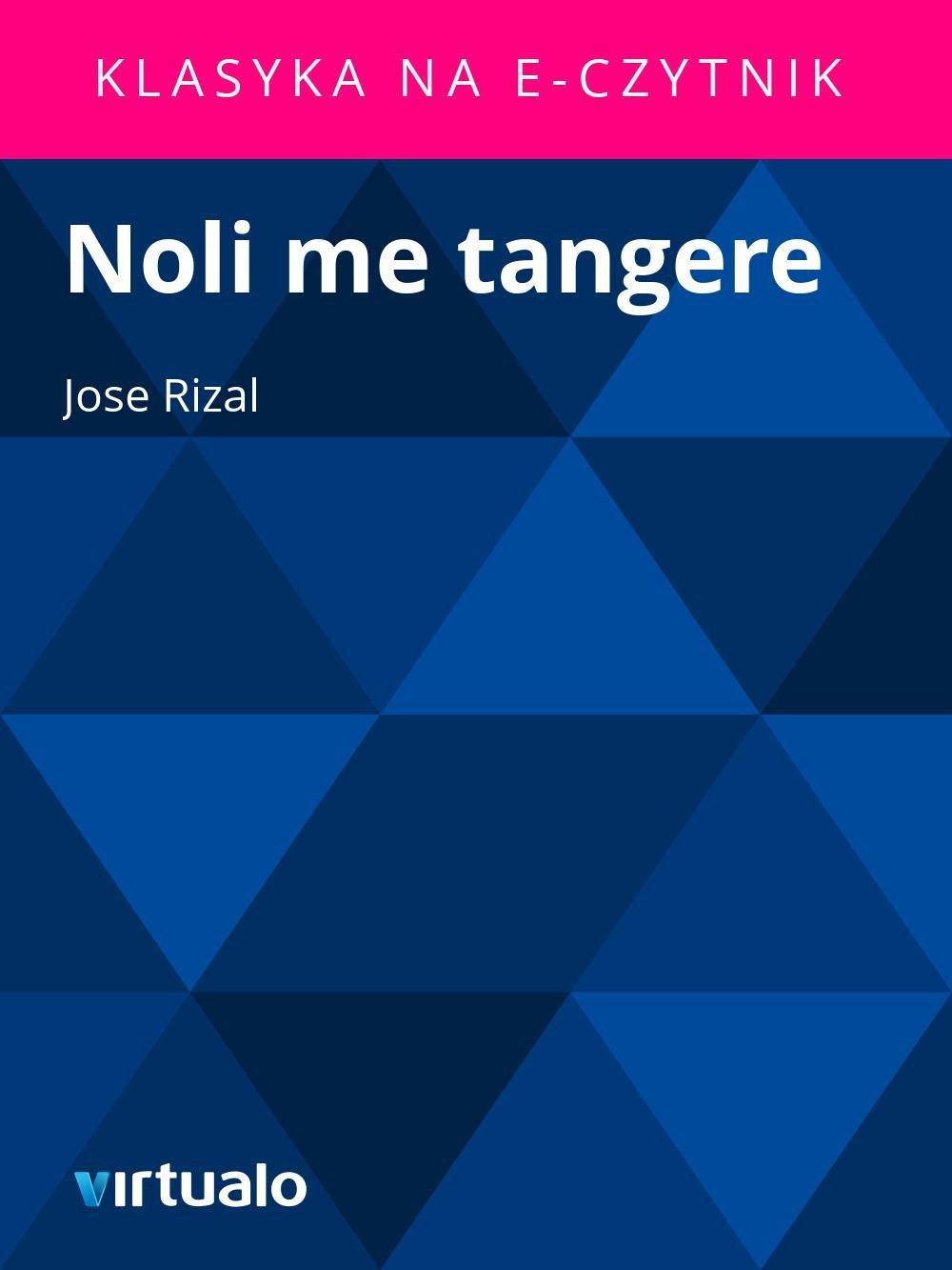 Noli me tangere - Ebook (Książka EPUB) do pobrania w formacie EPUB