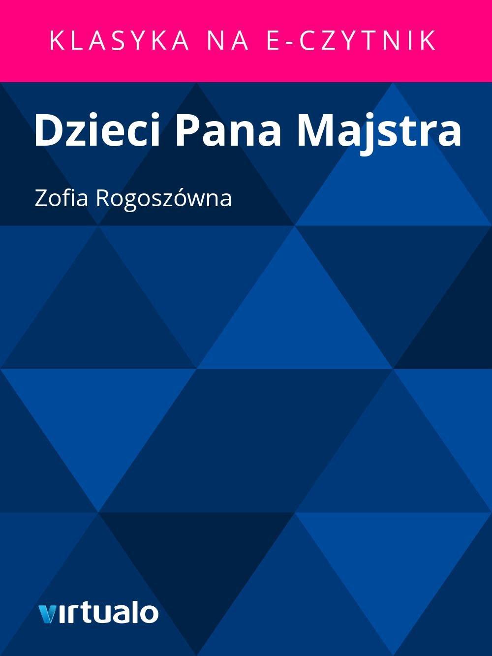 Dzieci Pana Majstra - Ebook (Książka EPUB) do pobrania w formacie EPUB