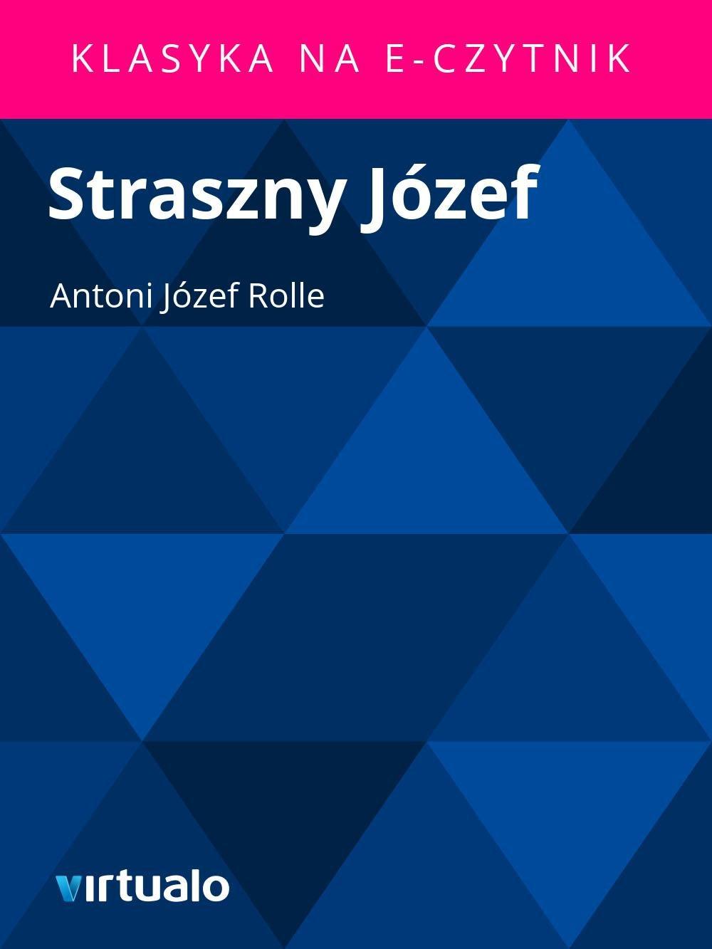 Straszny Józef - Ebook (Książka EPUB) do pobrania w formacie EPUB