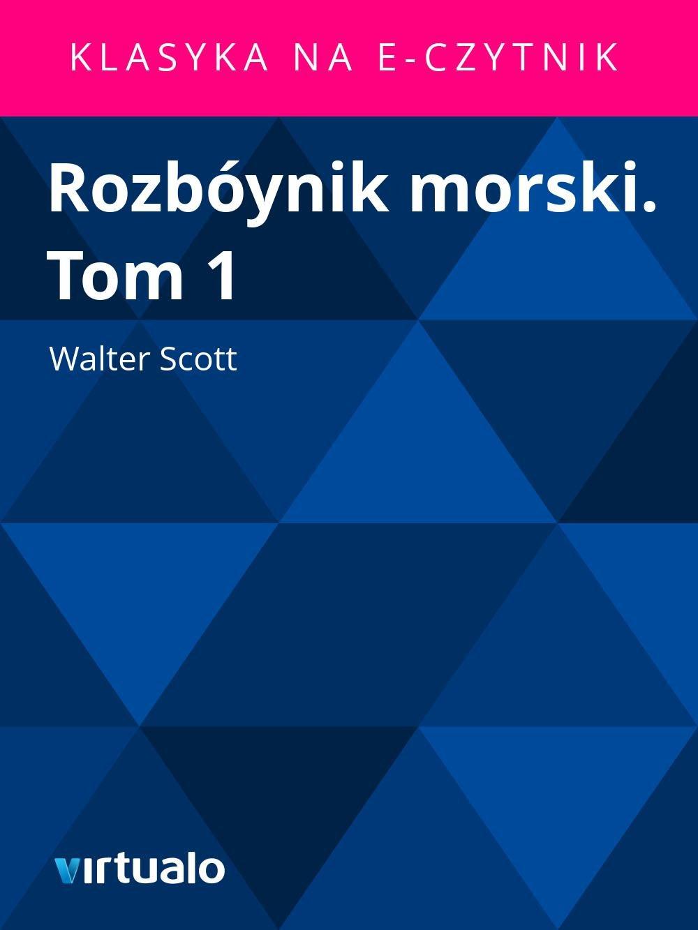 Rozbóynik morski. Tom 1 - Ebook (Książka EPUB) do pobrania w formacie EPUB