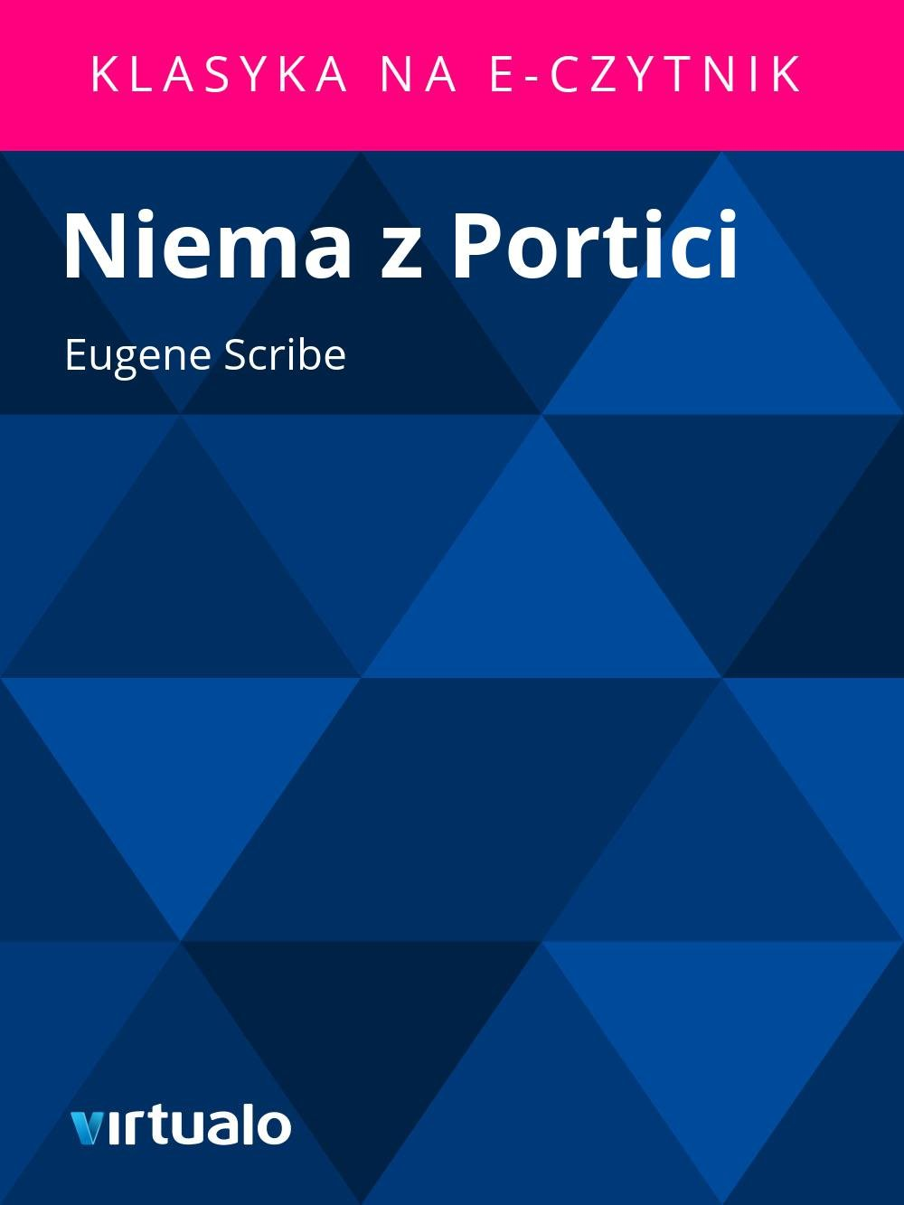 Niema z Portici - Ebook (Książka EPUB) do pobrania w formacie EPUB