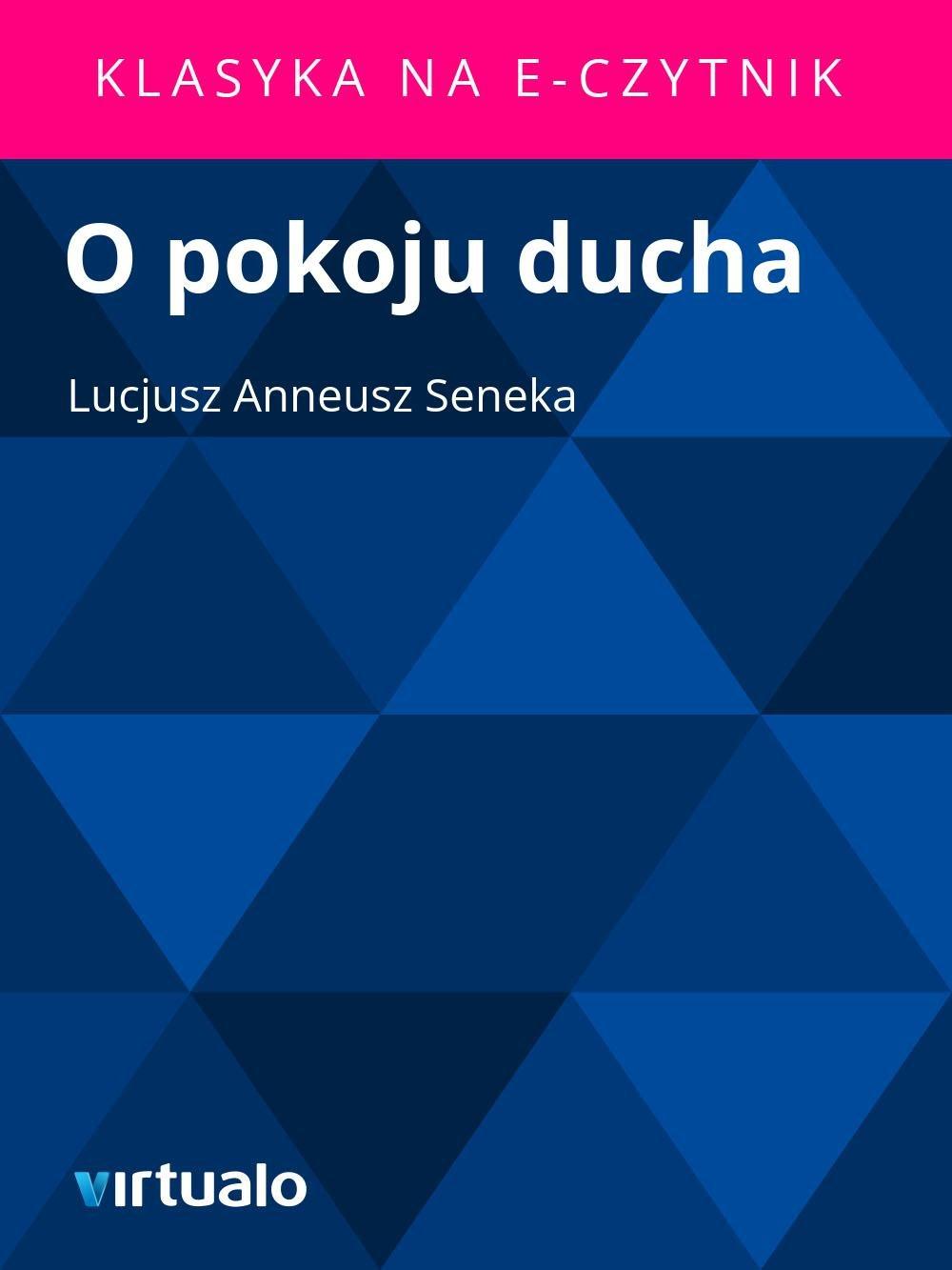 O pokoju ducha - Ebook (Książka EPUB) do pobrania w formacie EPUB