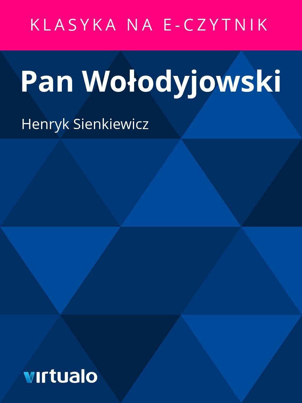 Pan Wołodyjowski - Ebook (Książka EPUB) do pobrania w formacie EPUB