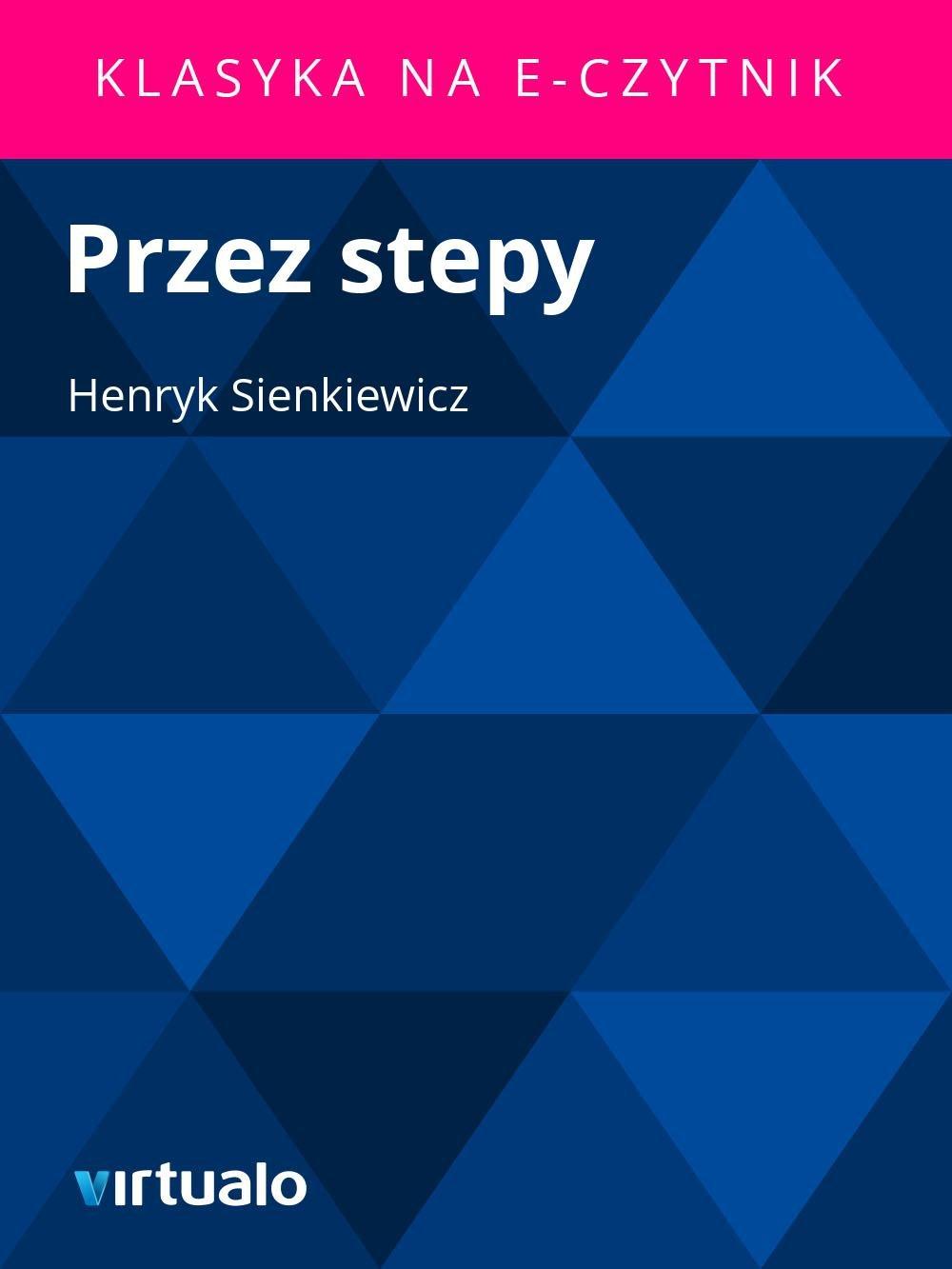 Przez stepy - Ebook (Książka EPUB) do pobrania w formacie EPUB