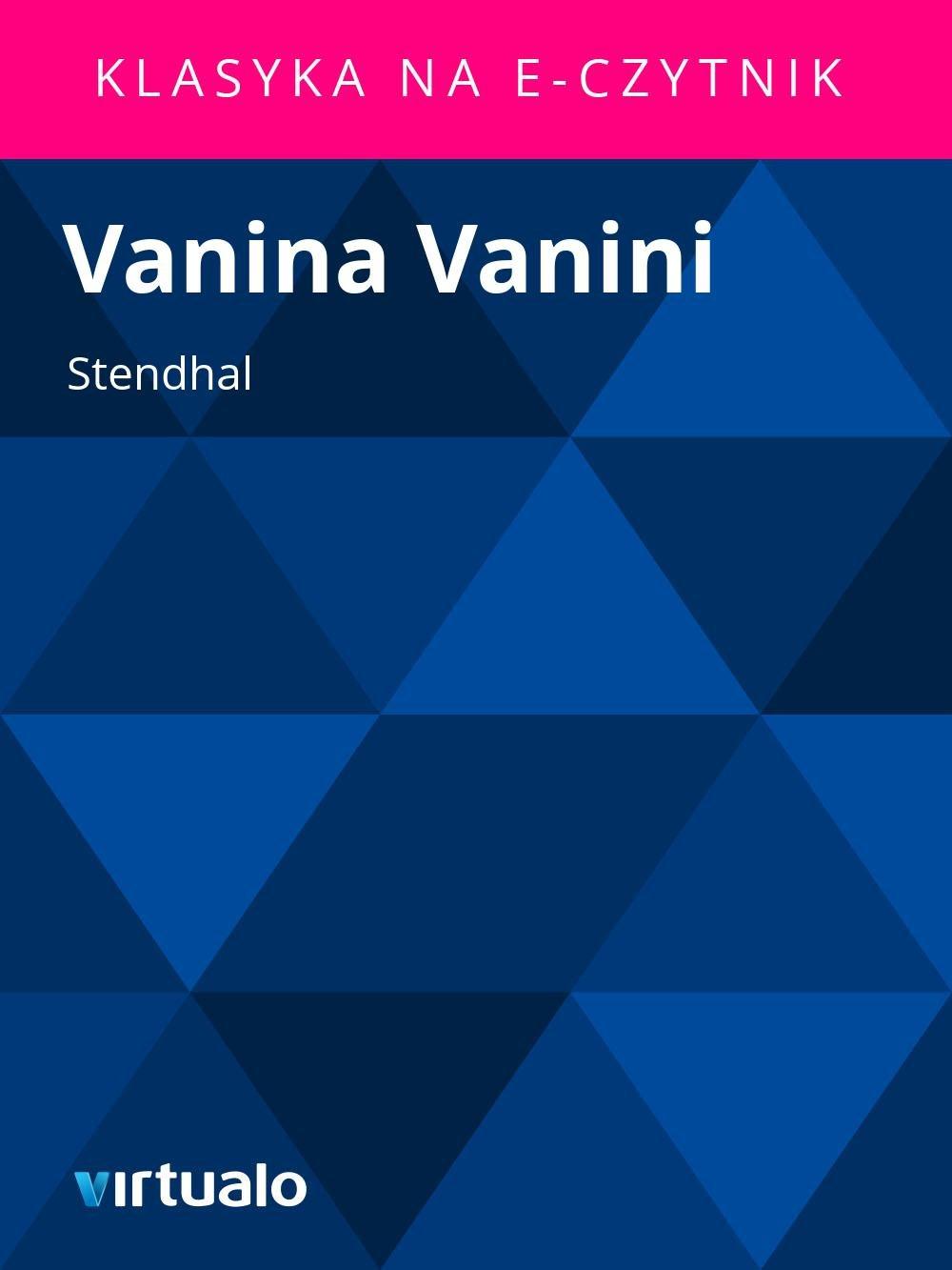 Vanina Vanini - Ebook (Książka EPUB) do pobrania w formacie EPUB