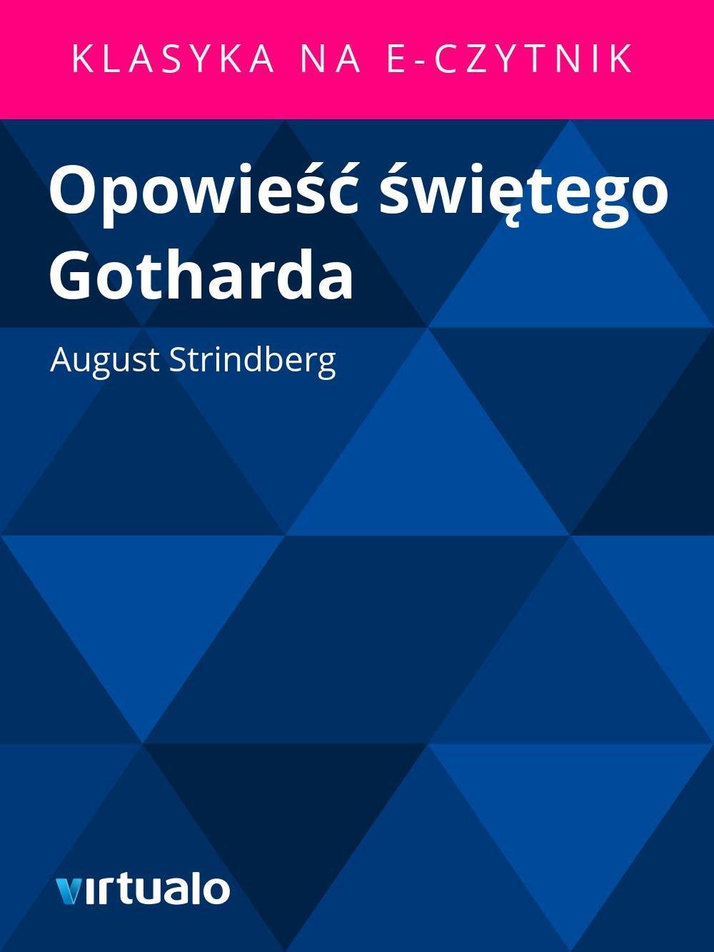Opowieść świętego Gotharda - Ebook (Książka EPUB) do pobrania w formacie EPUB