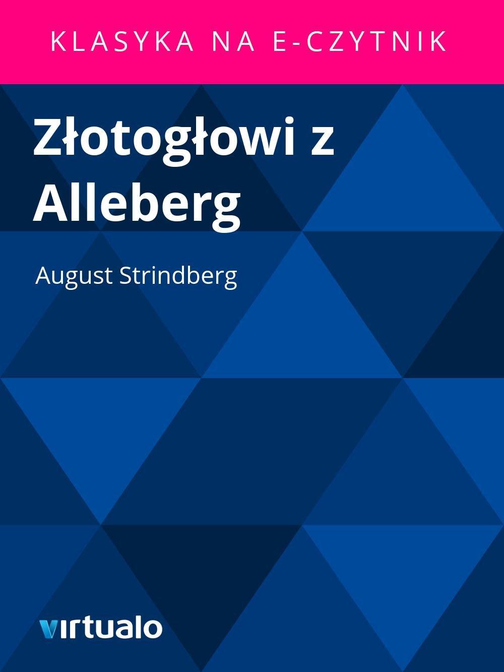 Złotogłowi z Alleberg - Ebook (Książka EPUB) do pobrania w formacie EPUB