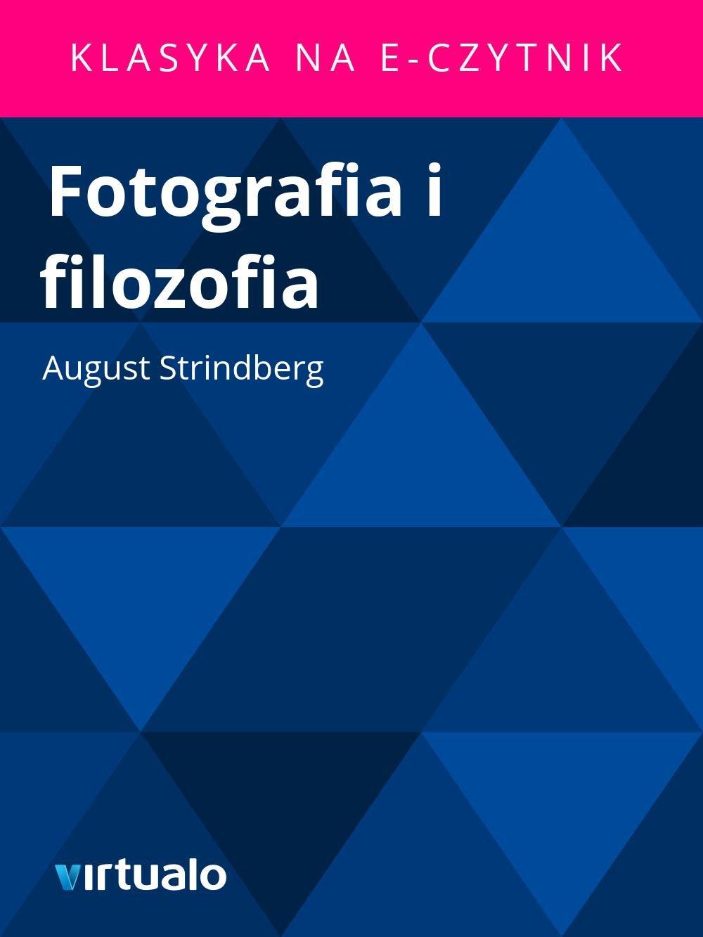 Fotografia i filozofia - Ebook (Książka EPUB) do pobrania w formacie EPUB