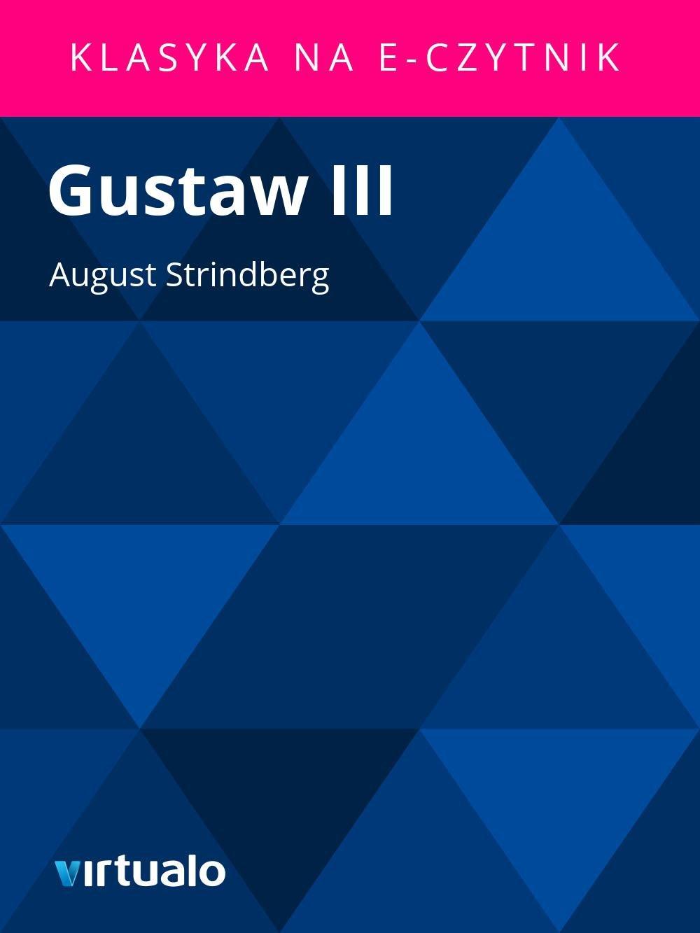 Gustaw III - Ebook (Książka EPUB) do pobrania w formacie EPUB