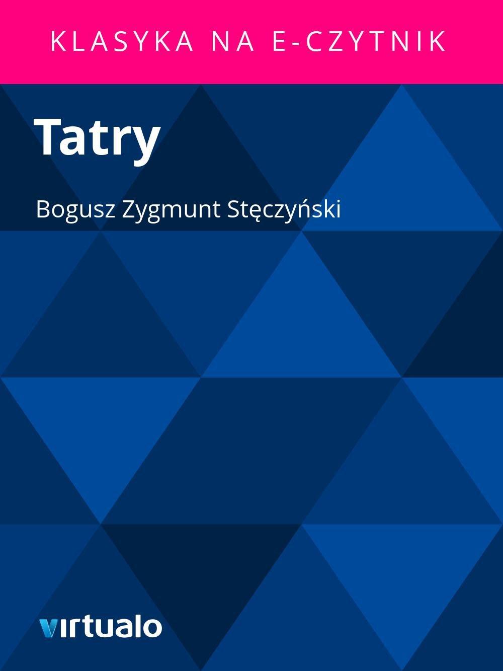 Tatry - Ebook (Książka EPUB) do pobrania w formacie EPUB
