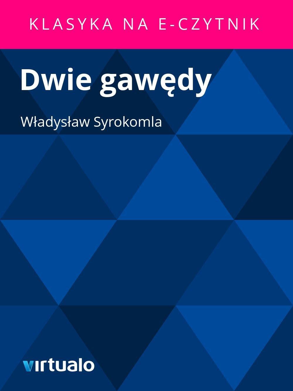 Dwie gawędy - Ebook (Książka EPUB) do pobrania w formacie EPUB