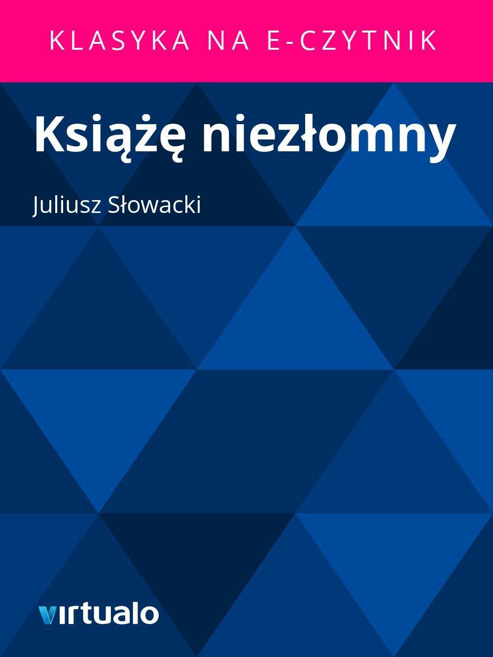 Książę niezłomny - Ebook (Książka EPUB) do pobrania w formacie EPUB